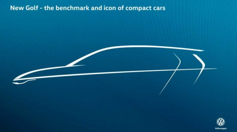Volkswagen: nel 2019 arriverà la nuova generazione della Golf