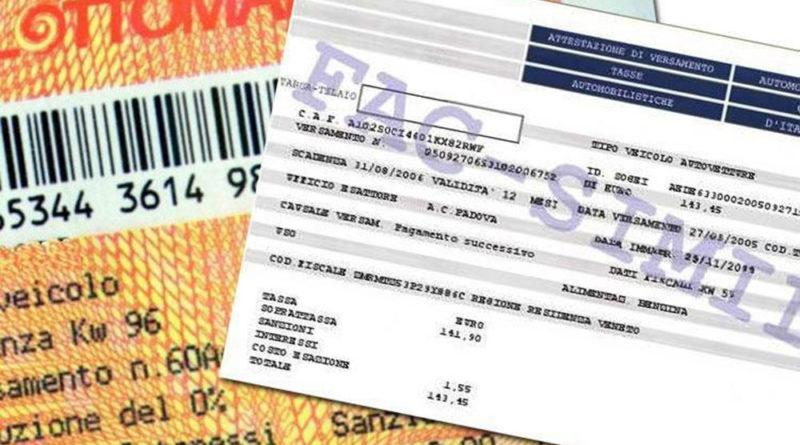 NOVITÀ BOLLO AUTO: diventerà tassa sul consumo