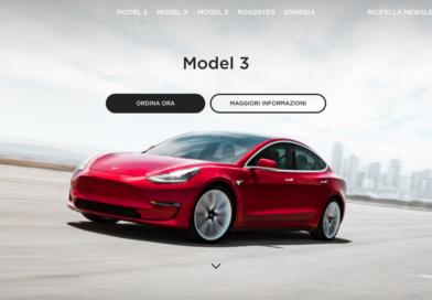 Tesla Model 3: ora si può acquistare anche online