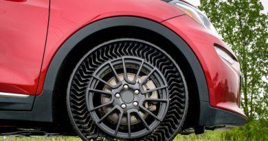 Pneumatici senza aria: primo test per Michelin, obiettivo 2024